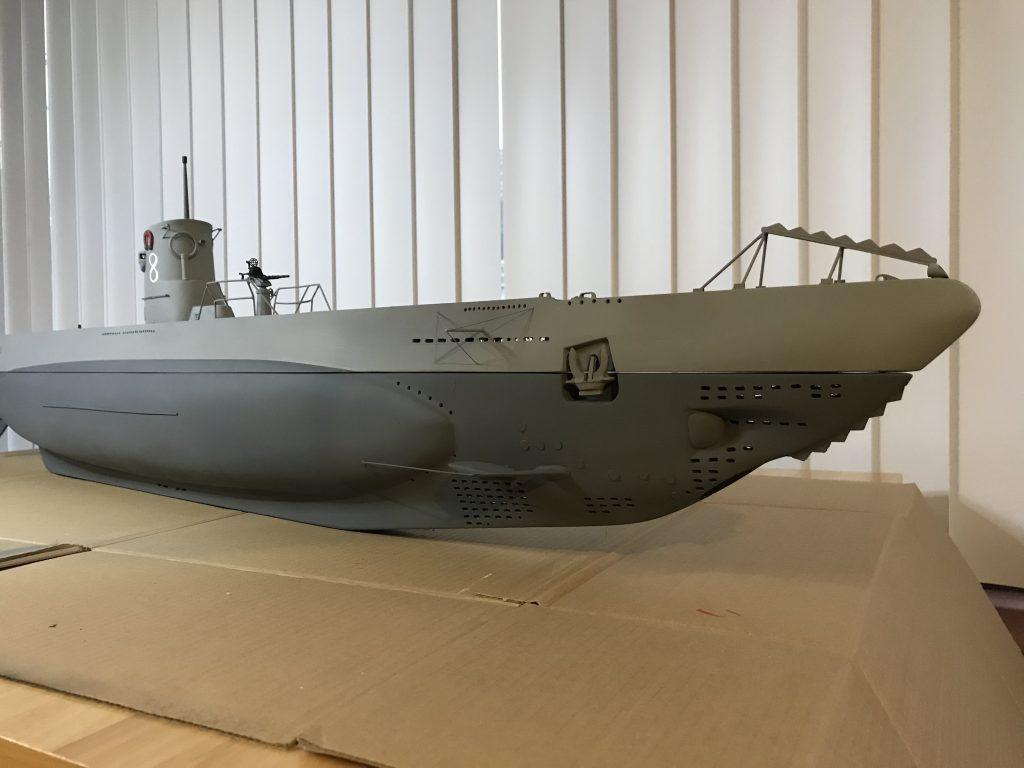 German type 2b Uboat built by Martin Pryor